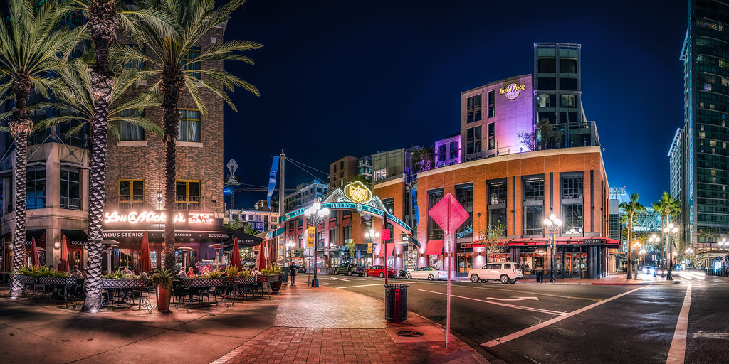 Good ... Enter The Gaslamp Quarter   By Justin In SD