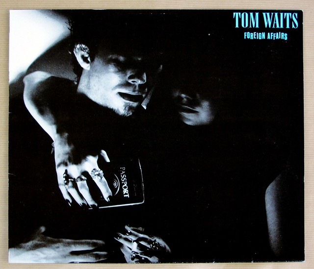 "TOM WAITS FOREIGN AFFAIRS 12"" LP VINYL"