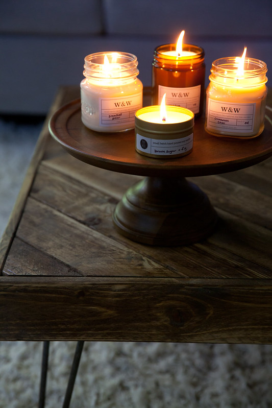 Wax and Wool Fall Candle Collection
