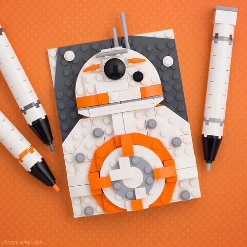 BB-8, by Chris McVeigh, on Flickr