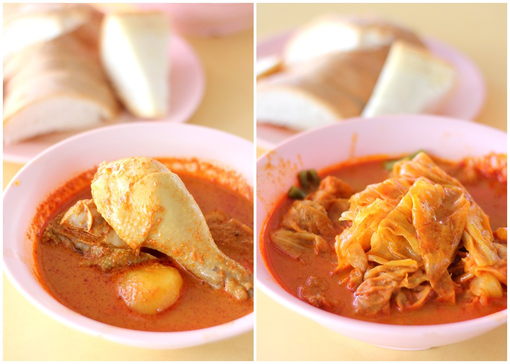 Bukit Merah View Food Centre: Na Na Homemade Curry Marina South