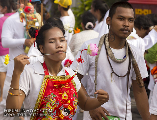 Bloody street procession at Phuket Vegetarian Festival. October, 2016. Phuket, Thailand | by Andaman4fun