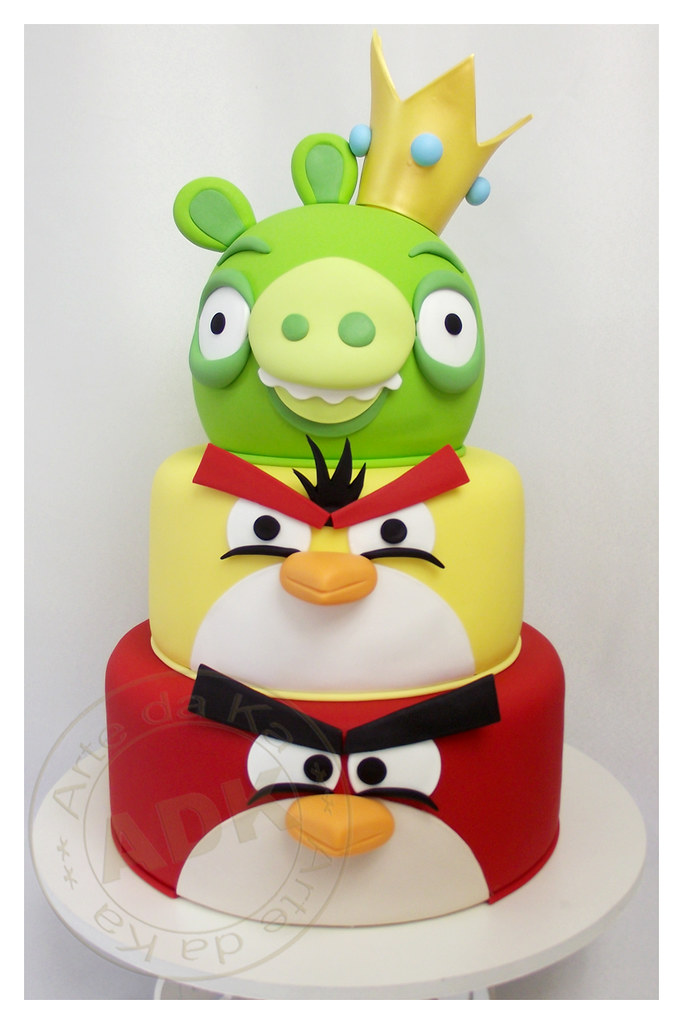 Pinterest Cake Ideas Angpy Birds