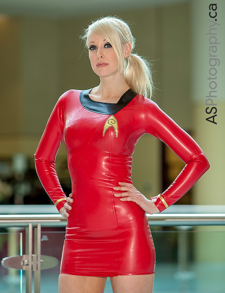 star trek latex captured at toronto comicon 2013 tag and. Black Bedroom Furniture Sets. Home Design Ideas