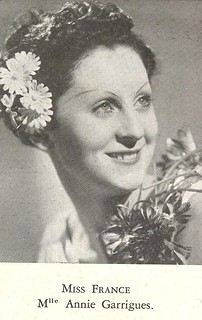 Mlle Annie Garrigues - Miss France 1938 | by Punkmemory
