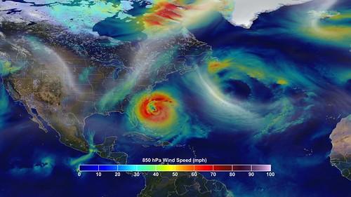 Tracking a Superstorm   A NASA computer model simulates ...