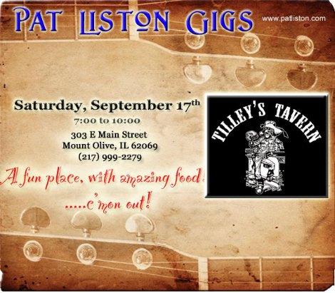Pat Liston 9-17-16