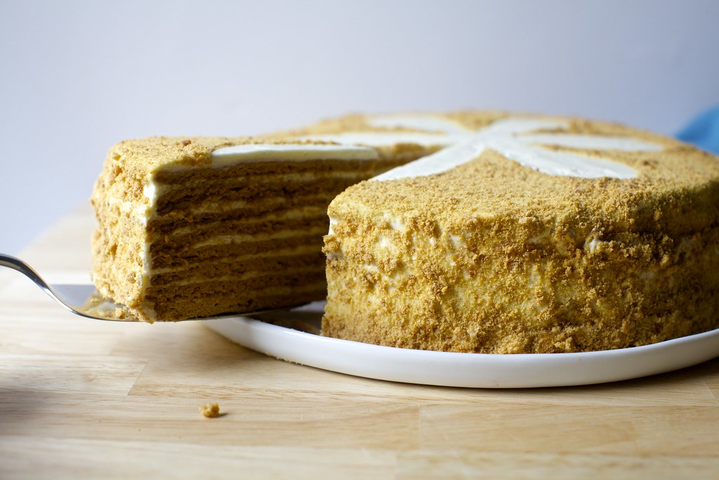 Rusian Honey Cake Recipe