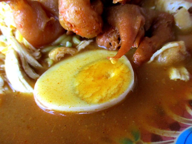 Sunny Cafe, mee jawa - egg