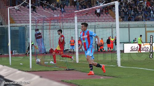 Catania-Messina 3-1: Ricomincio da tre$