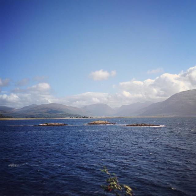 Loch Linnhe, Scottish Highlands #scotland #lochlinnhe #scottishhighlands #scottishscenery #sealoch