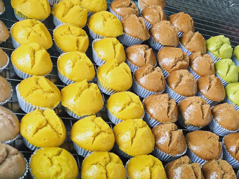 Khanom Tuay Foo Thai Steamed Muffins