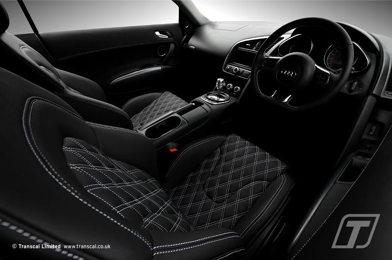 ... Audi R8 Custom Leather Interior   By Transcal