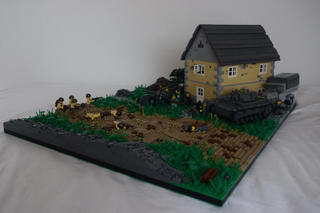 Lego ww2 france moc yt video for Siege lego france