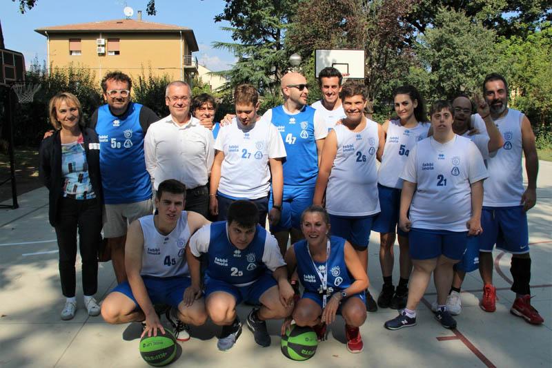 Solidarietà e inclusione: inaugurato a Castel Bolognese il 1° campo outdoor di baskin in Romagna