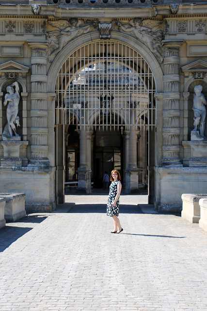 Fancy Tiger Craft Adventure Tank & Marilla Walker Ilsley Skirt, at the Château de Chantilly