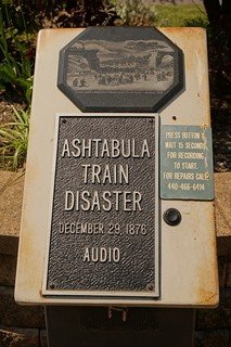 Ashtabula Train Wreck Memorial - Ashtabula, Ohio | by RoadTripMemories