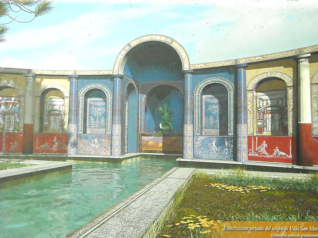 Swimming Pool In Roman Villas