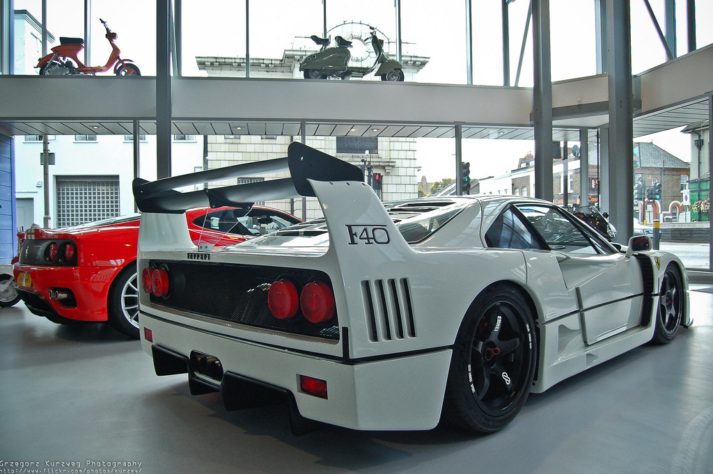 Ferrari F40 For Sale >> F40 at Joe Macari Performance Cars | Photo taken in London ...