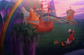 Peter Pan Mural | by Disney, Indiana