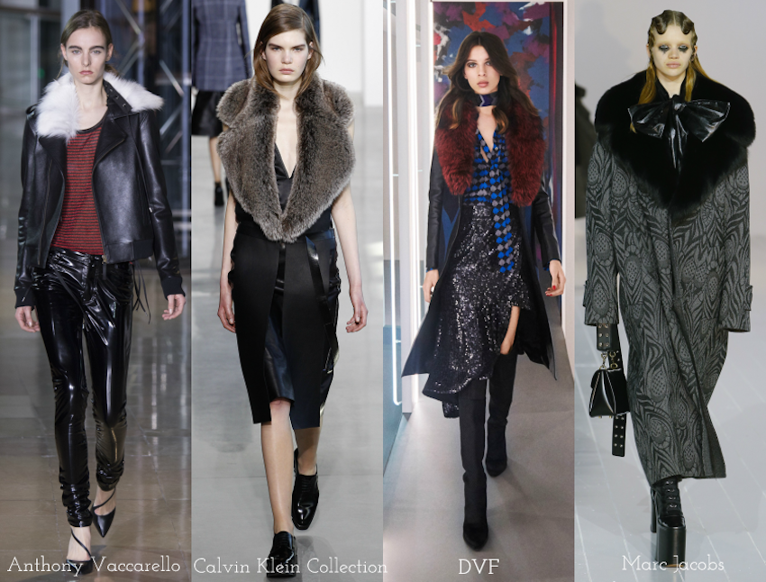 Trend Report: A/W 2016: Fur collar