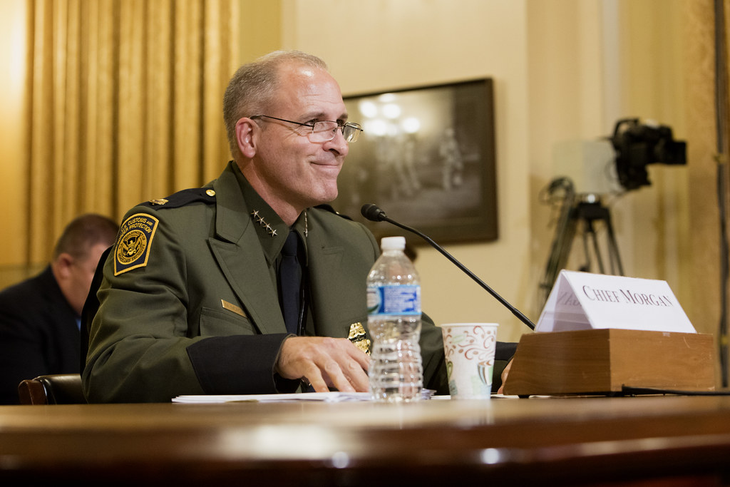 Mark Morgan First Hearing As Usbp Chief With Cbp 091316