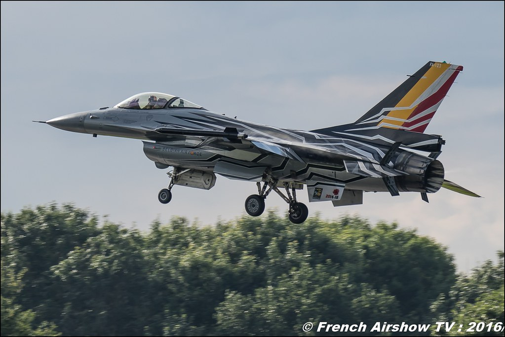Belgian Air Force F-16 Solo Display Team , Belgian Air Force , f16 belge , BAF F-16 Solo Display 2016 , Belgian Air Force Days 2016 , BAF DAYS 2016 , Belgian Defence , Florennes Air Base , Canon lens , airshow 2016