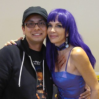 Meet Patty Mullen from Frankenhooker! She was really nice. @pattymullen13 #frankenhooker #pattymullen #sinistercreaturecon #Sacramento #horrocon #cultfilm | by Always Wrong Film