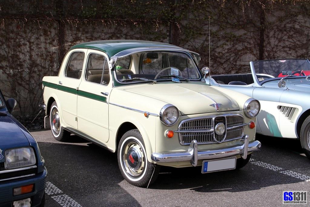 1953 Nsu Fiat Neckar 1100 103 In 1929 Nsu Had Sold Its