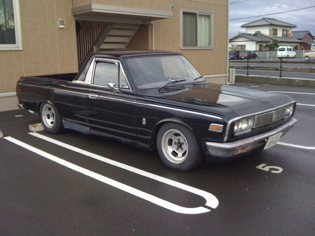 Toyota Crown Pickup 79 Rivers Flickr