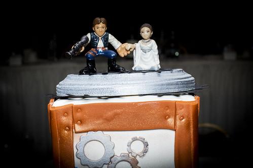 Cake Topper Star Wars Wedding
