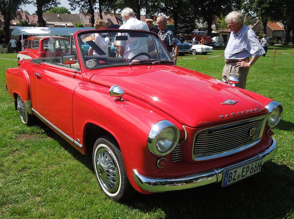 Wartburg 311 Cabrio 7 Oldtimertreffen Am 07 07 2012 In