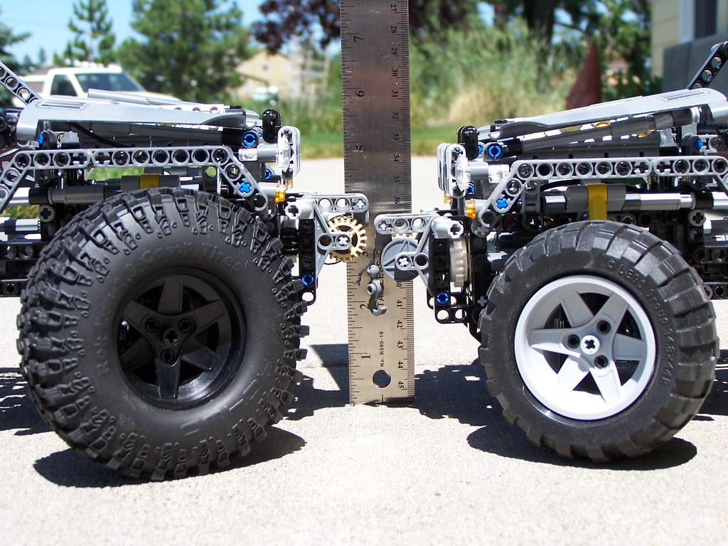 Truck Wheels And Tires >> Rok Lox 1.9 Comp Tires vs. Lego 54120 Tires (on two Lego 8 ...