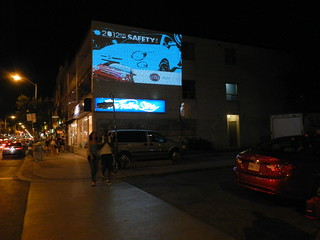 Outdoor Wall Projection Advertising, Bloor Street West, The Annex, Toronto Ontario Canada, Sunday July 8 2012 - 006 | by HiMY SYeD / photopia