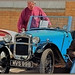 Vintage Austin Sports in Blue  : Fathers Day : Classic Vehicle Spectacular : Ribble Steam Railway : Preston :
