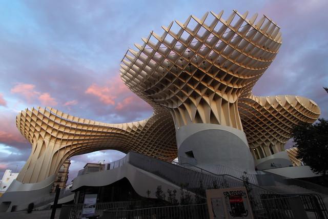 Metropol Parasol Sevilla Flickr Photo Sharing