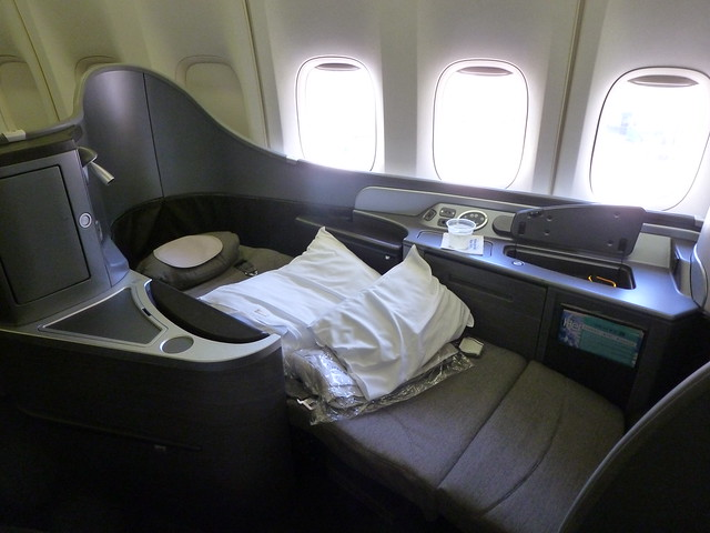 United Airlines Boeing 747 400 First Class Seat Flickr