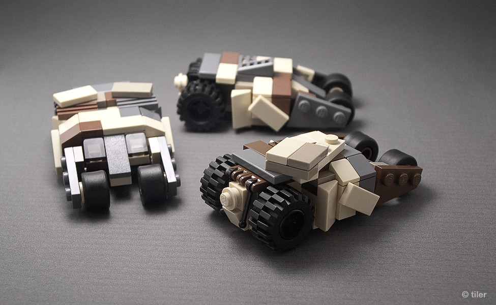 How To Build Mini Lego Batmobile