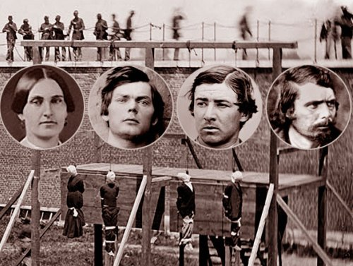 Hanging Of Conspirators In Lincoln Assassination The