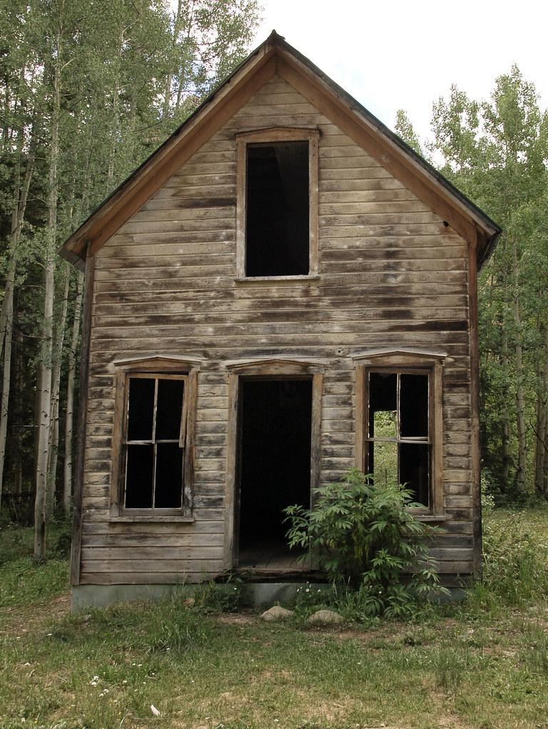 Ironton Cabin 1 Abandoned Homes In Ironton Colorado An