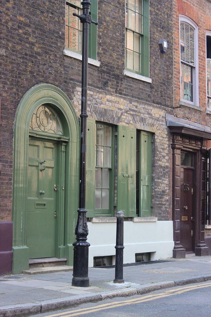 Spitalfields London: 15 Wilkes Street, Spitalfields, London (1723-24, C.1790, A