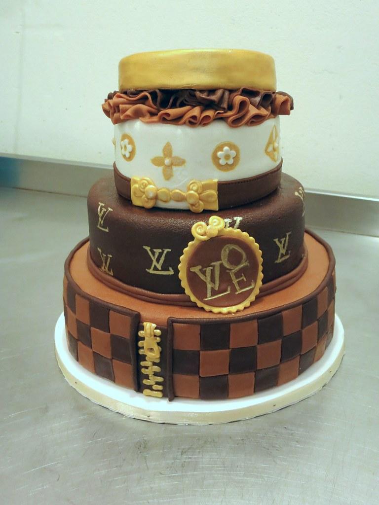 Louis Vuitton Happy Birthday Cake