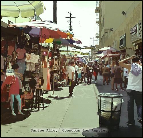 Santee Alley | Outdoor bazaar in downtown Los Angeles ...