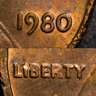 1980 Lincoln Memorial Cent DDO FS-101 (closeups) | by CaptainFwiffo