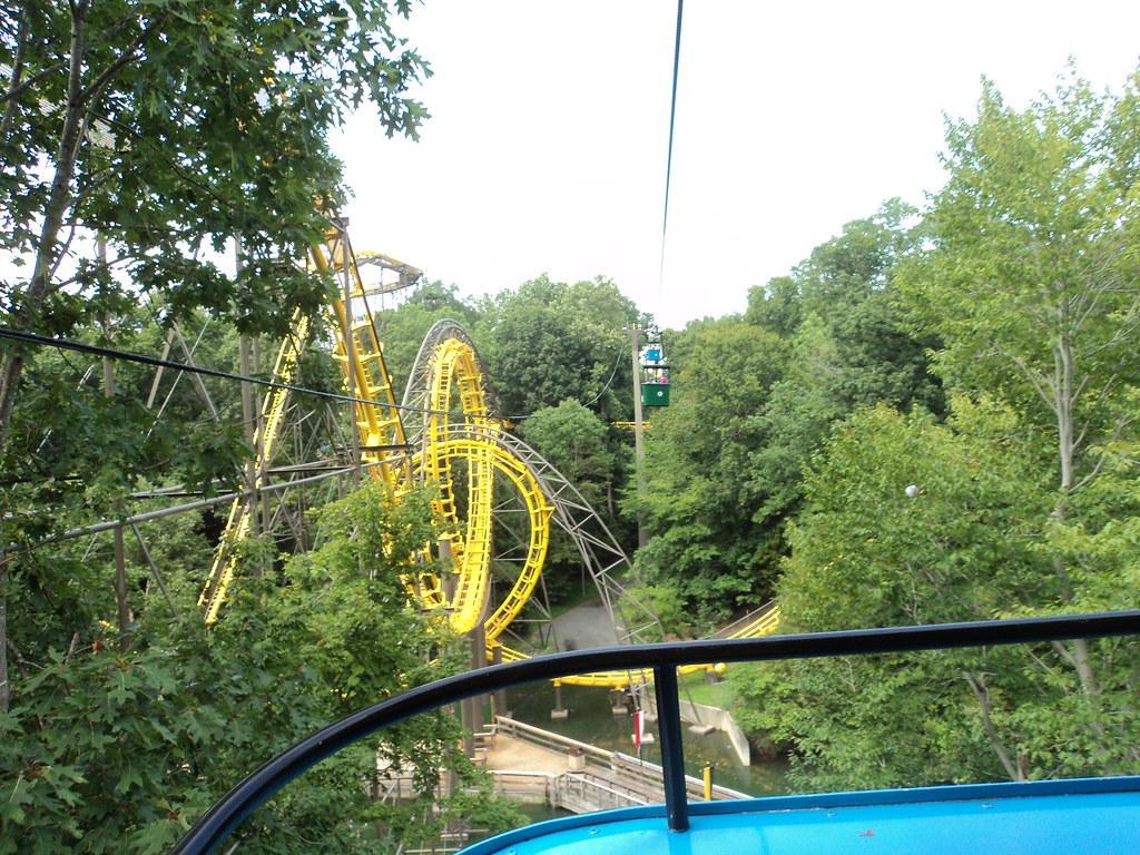 ... 2012 07 31   Busch Gardens Williamsburg   Skyride From Germany To  Scotland |