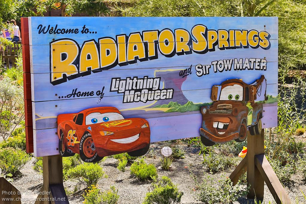 Disneyland July 2012 Welcome To Radiator Springs Flickr
