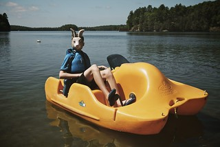 rabbit (paddle boat) | by heather