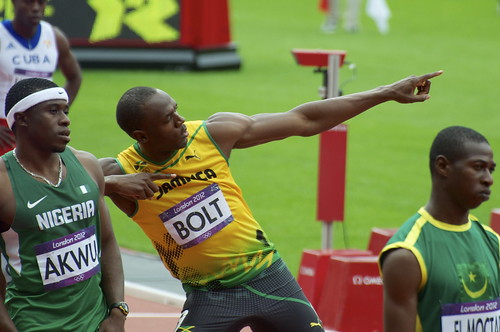 Usain Bolt - The Bolt! | by Nick J Webb