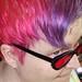 New hair, new sunglasses