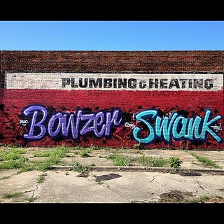Bowzer swank #detroit #graffiti | by ExcuseMySarcasm